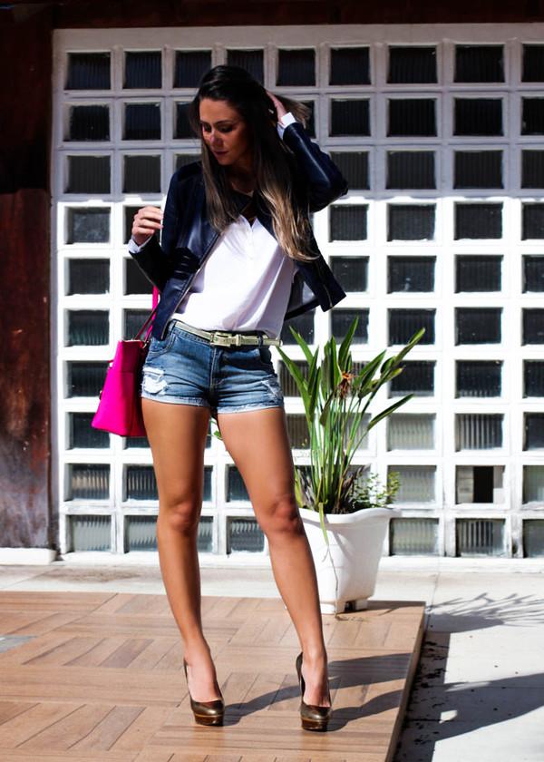 decor e salto alto jeans shoes