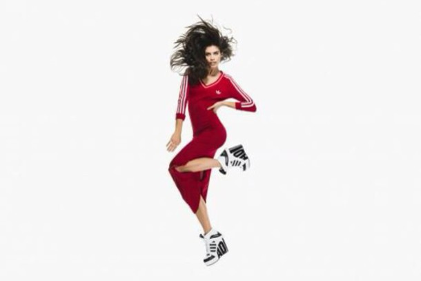 dress adidas jeremy scott red sportswear