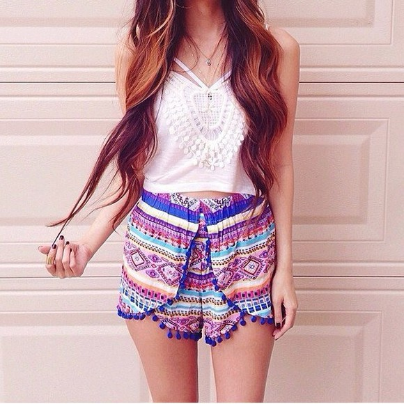 color shorts