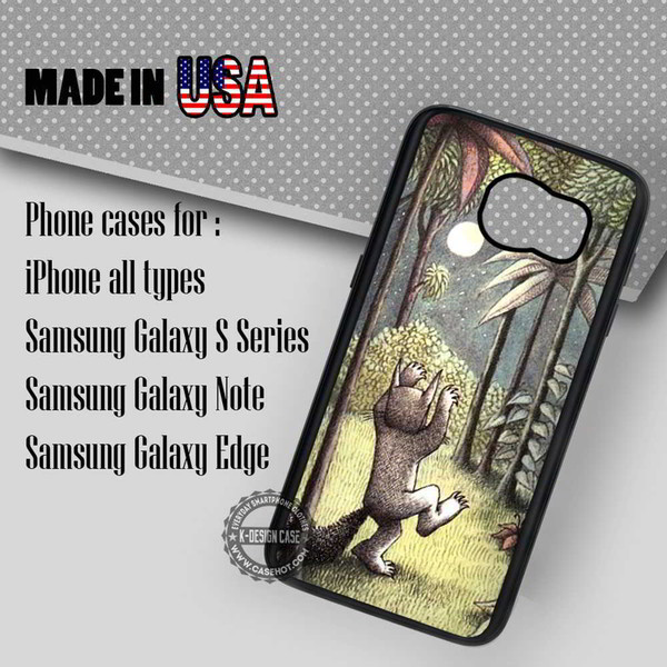 phone cover wolf monster story