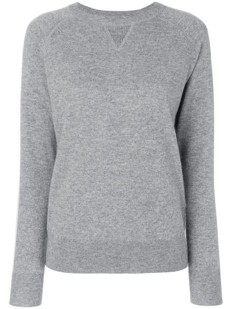 theory jumper women grey sweater