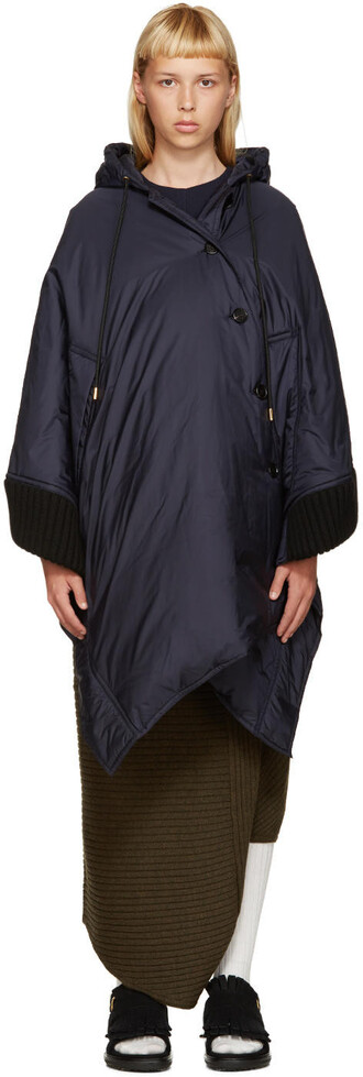 cape navy top