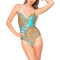 Luli fama chic underwire one piece swimsuit