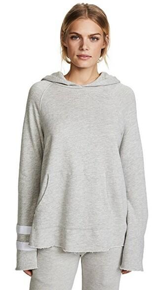 hoodie grey heather grey sweater