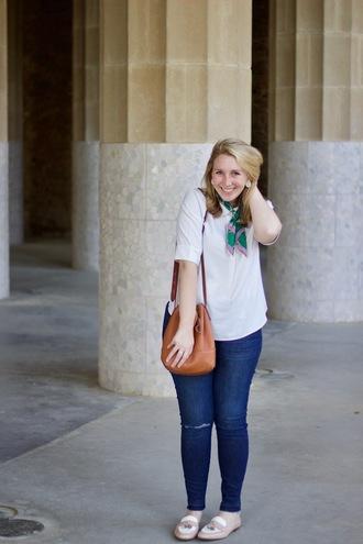 glitter&spice blogger top pants shoes bag shoulder bag loafers skinny jeans plus size jeans plus size top curvy plus size