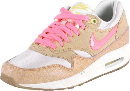 nike air max 1 premium w chaussures beige rose