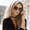 Rose colored mirrored lens sunglasses – freyrs eyewear