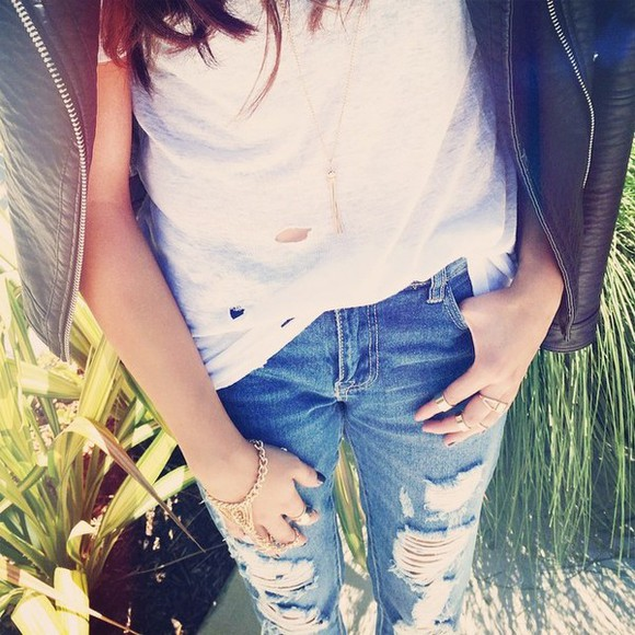 ripped jeans jeans distressed jeans light wash