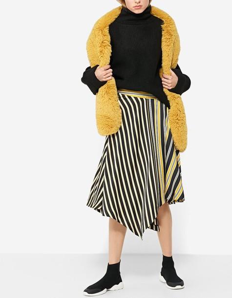 skirt mustard