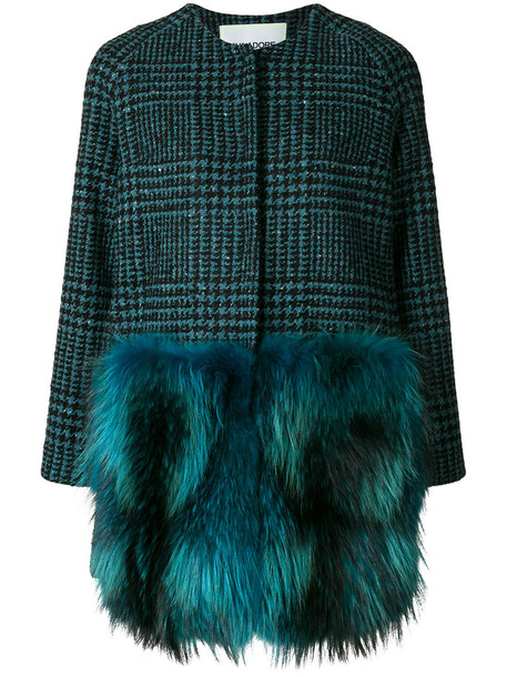 AVA ADORE coat women blue