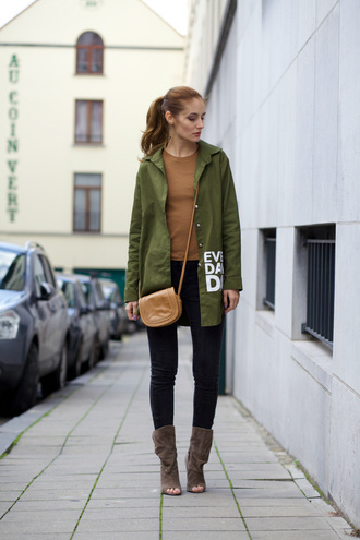from brussels with love blogger shirt jacket top jeans shoes bag