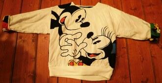 sweater mickey minnie disney minnie mouse mickey mouse walt disney walt disneyworld