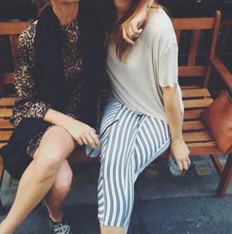 leggings stripes stripey