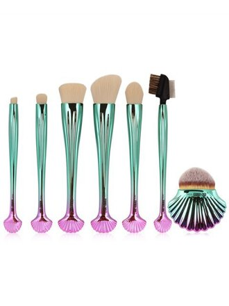 make-up makeup brushes metallic mermaid zaful