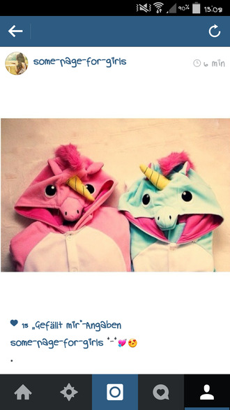 sweater onesie unicorn pink fluffy