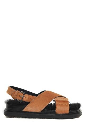 hair sandals shoes
