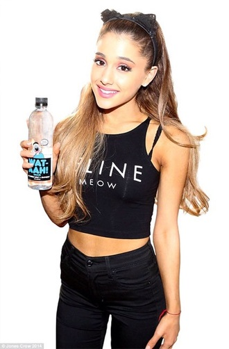 top black crop top ariana grande