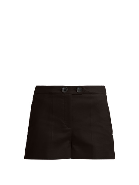shorts cotton black