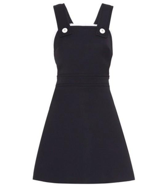 Miu Miu dress mini dress mini sleeveless blue