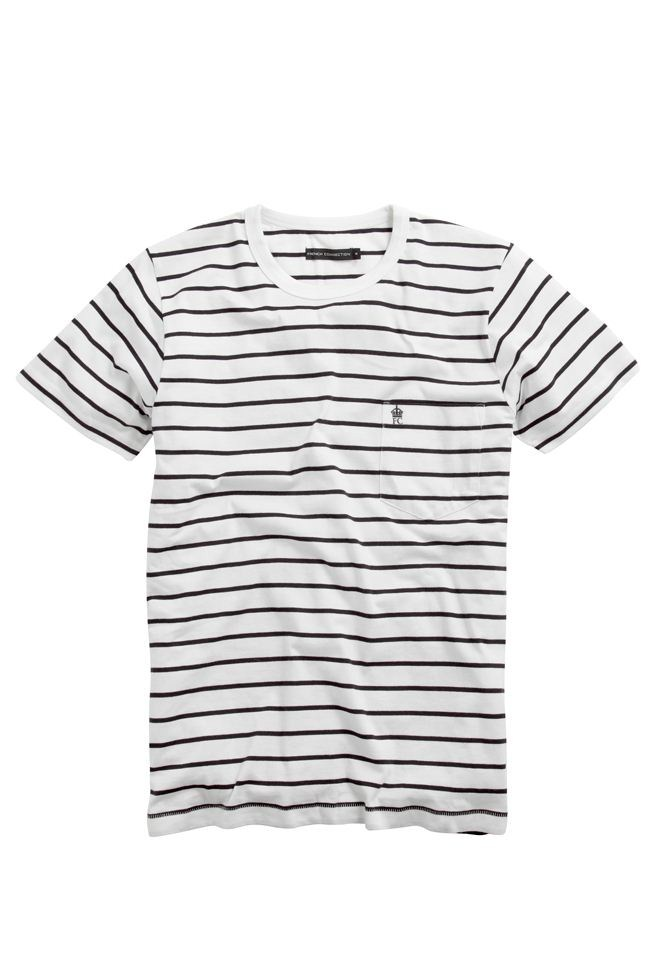 Nautical Stripe T-Shirt - Sale - French Connection