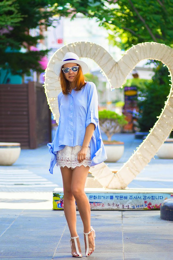 gvozdishe blouse shoes sunglasses