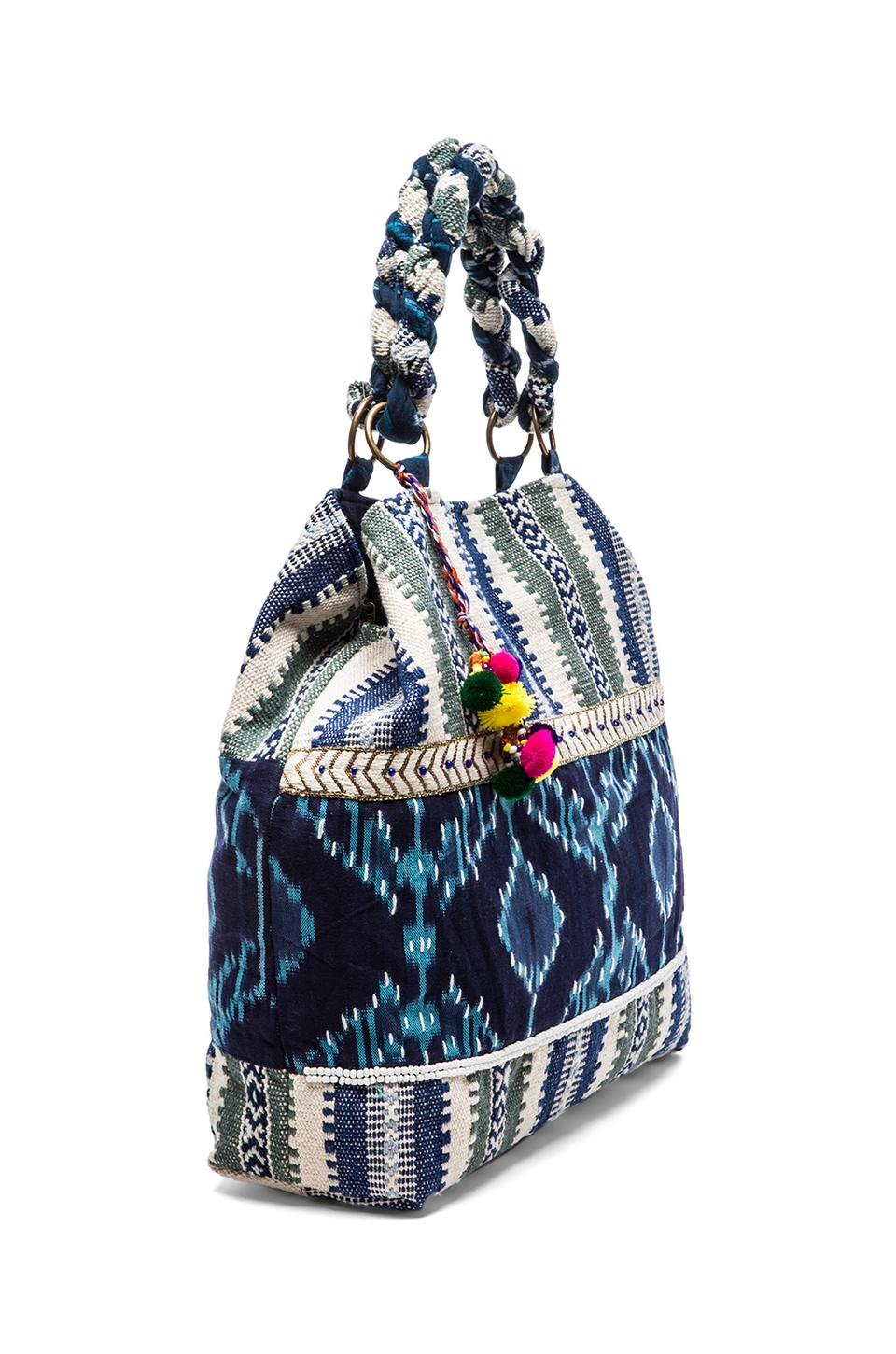 STELA 9 Shiva Tote in Blue Multi from REVOLVEclothing.com