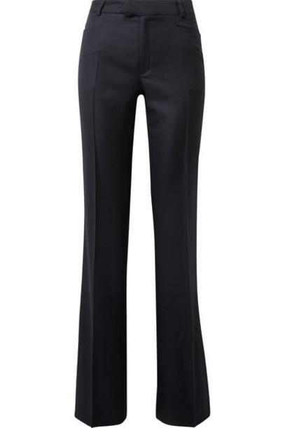 Joseph pants wide-leg pants 100 blue wool
