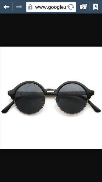 sunglasses black matte hipster