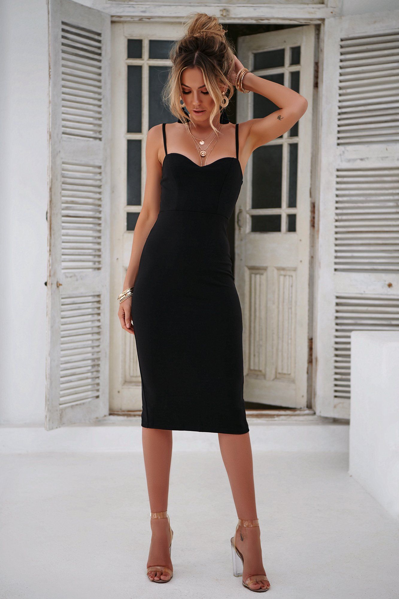 Hopeless Romantic Dress (Black)
