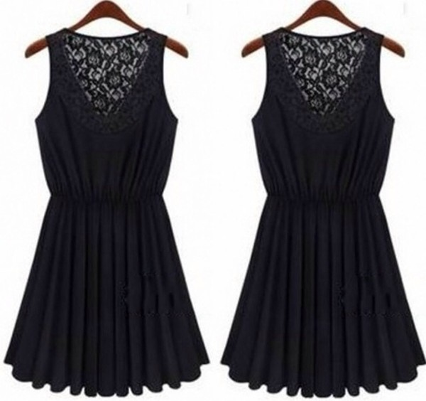 dress black black dress lace