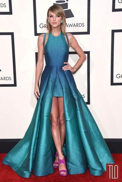 dress taylor swift blue dress blue ombre