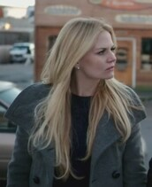 coat,grey,pea coat,emma swan,snow white,once upon a time show,jennifer morrison