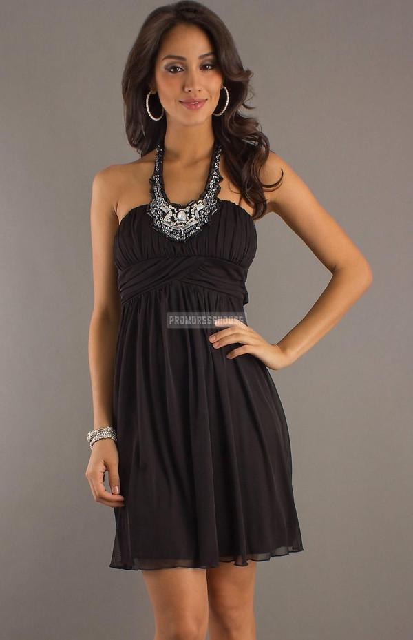 cocktail dress fashion dress chiffon dress beading sexy dress