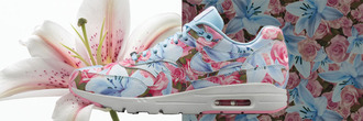 shoes nike floral air max ultra 1 wmns flowers sneakers trainers