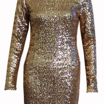Cute shining sequins dress