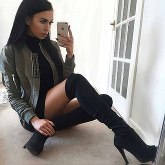 shoes thigh high boots high heels platform shoes platform heels black heels boots