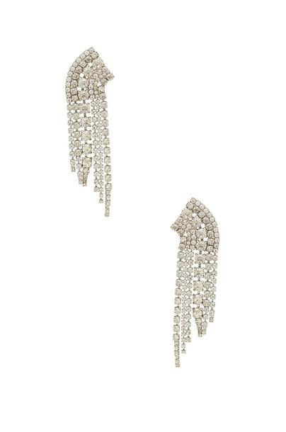 Elizabeth Cole metallic silver jewels