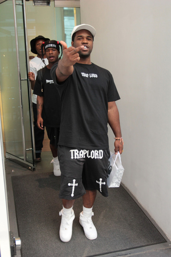 shorts trap lord asap ferg black trill dope