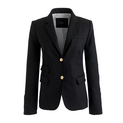 Schoolboy blazer in black