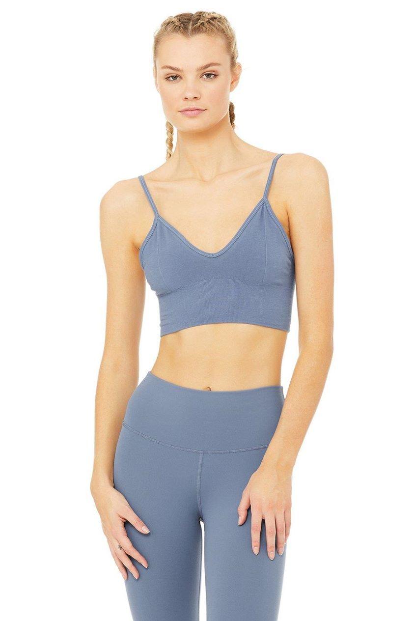 Delight Bralette - Blue Jean