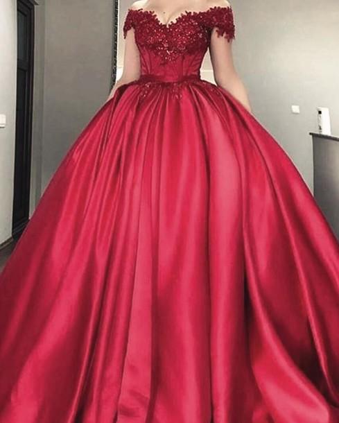 dress, red wedding dresses, brautkleider rot, prinzession ...