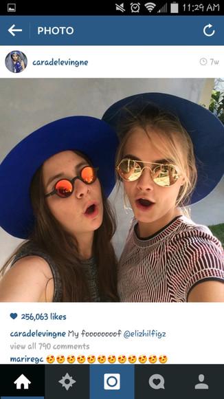 cara delevingne sunglasses right