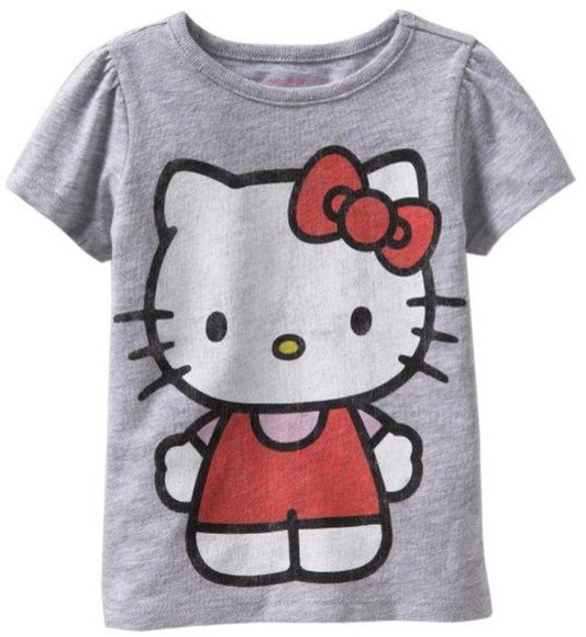 t-shirt women's hello kitty