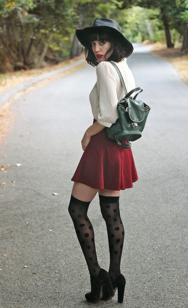a fashion nerd blouse skirt socks