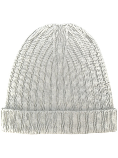 bear beanie grey hat