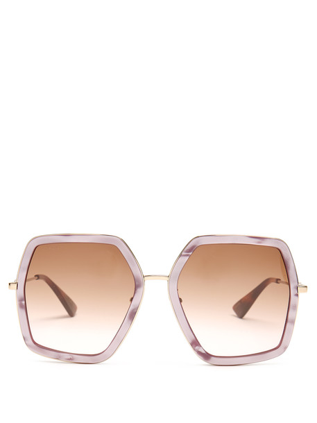 oversized sunglasses light pink light pink