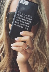 phone cover,black,iphone,iphone case,quote on it,black case,black iphone case