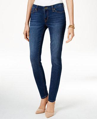 Tommy Hilfiger Paris Jeans High Waist dark blue   dress for