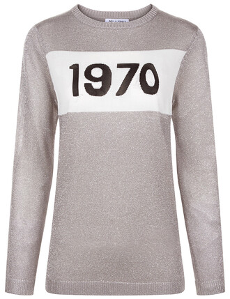 jumper silver sweater