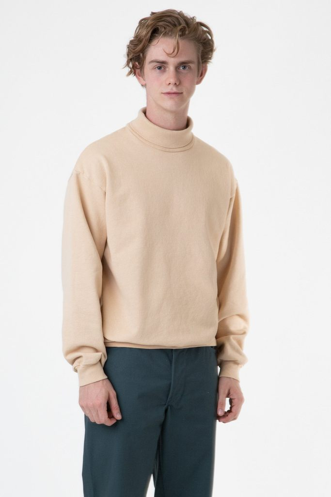 HF13GD - 14 oz Heavy Fleece Turtleneck Sweatshirt